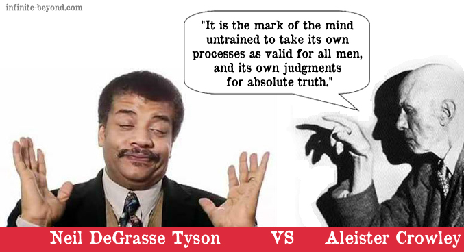 Neil Degrasse Tyson VS Aleister Crowley #2