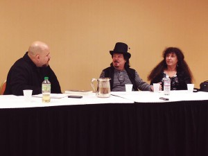 Chris Orapello interviewing Raven Grimassi and Stephanie Taylor-Grimassi ay FaerieCon East 2014
